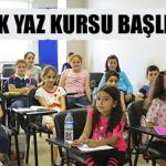 Yaz Eğitimleri